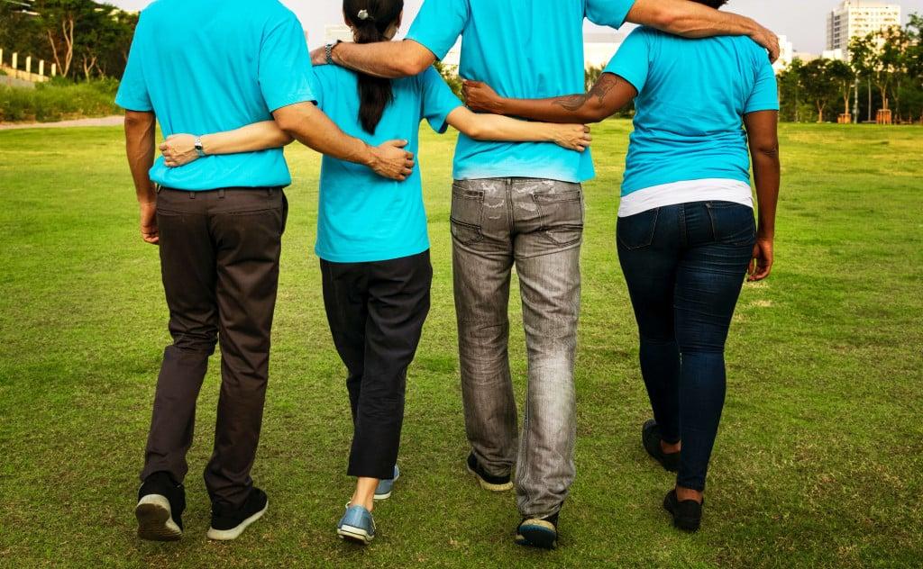 Teamzusammenhalt im Unternehmen