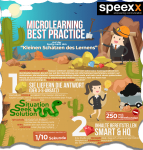 Microlearning Infografik