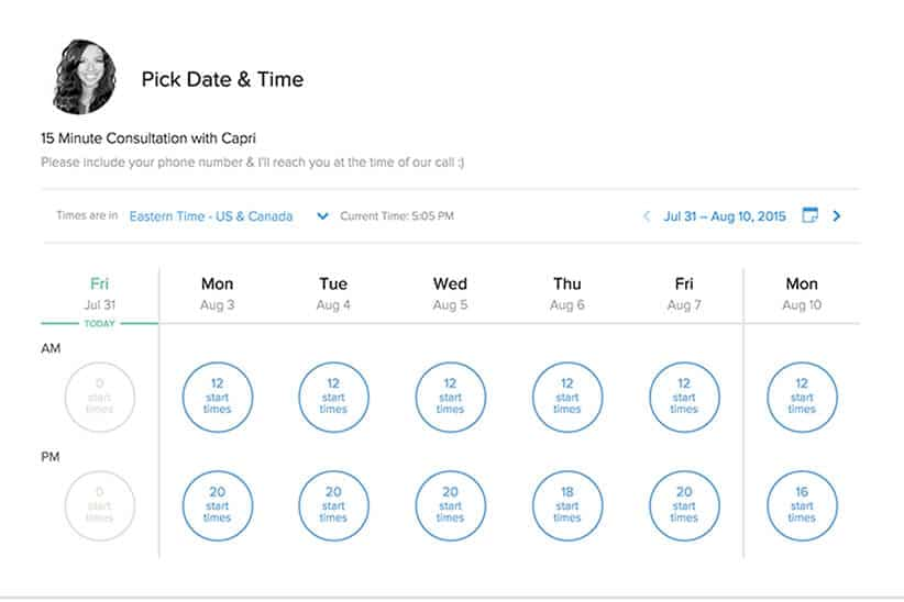 Free business resource Calendly