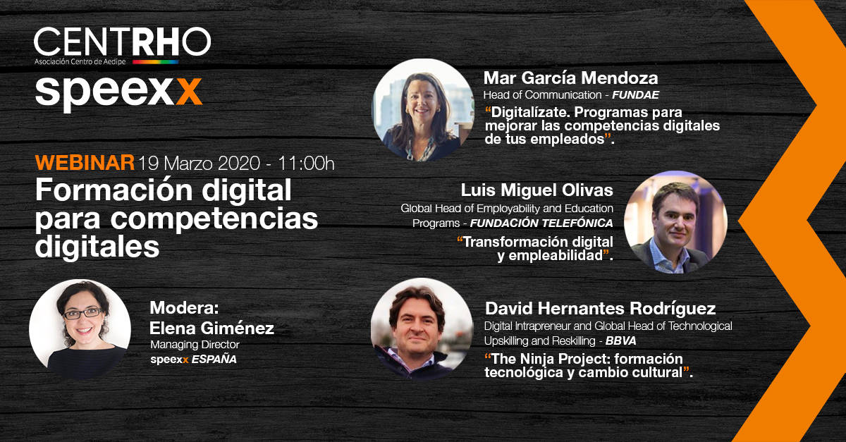 webinar competencias digitales