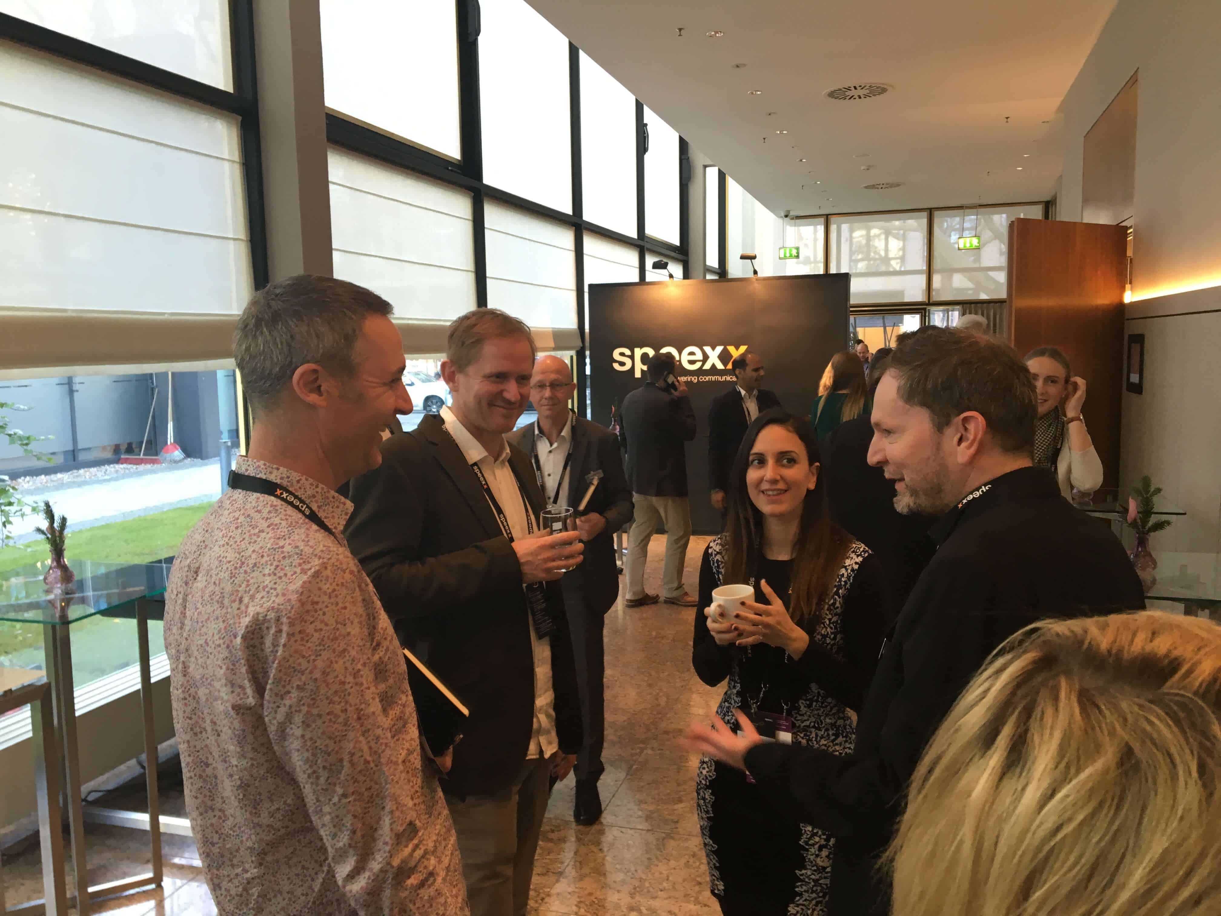 speexx exchange 2018 lunch conversations