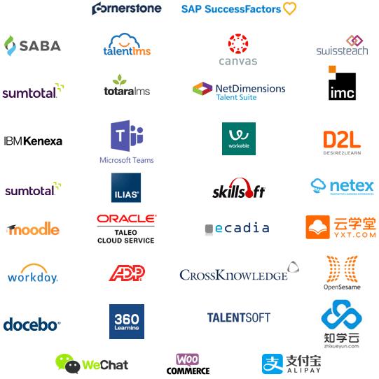 Speexx integration LMS logos