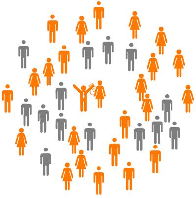 Sprachkurs mit Bildungsgutschein online in Gruppen