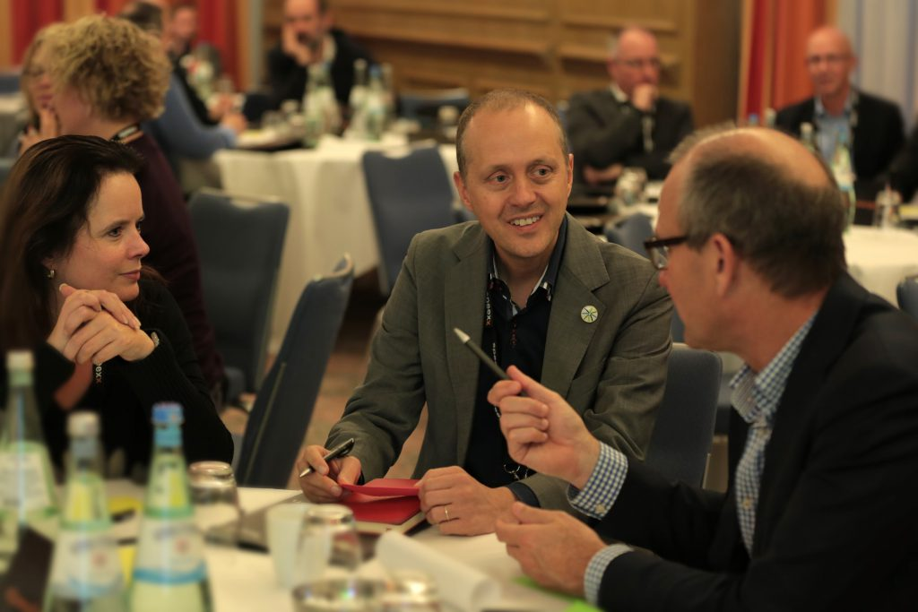 table discussion at Speexx Exchange Berlin 2016