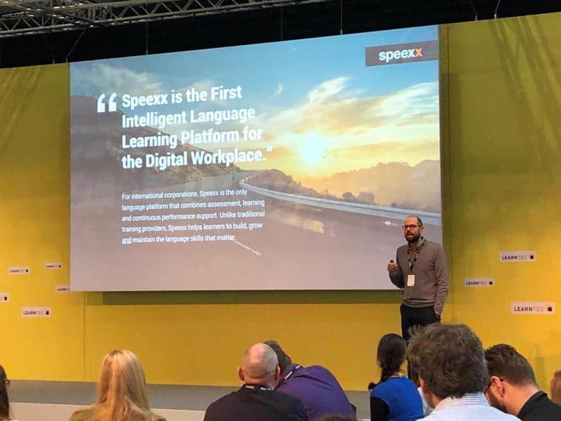 speexx at learning technologies london