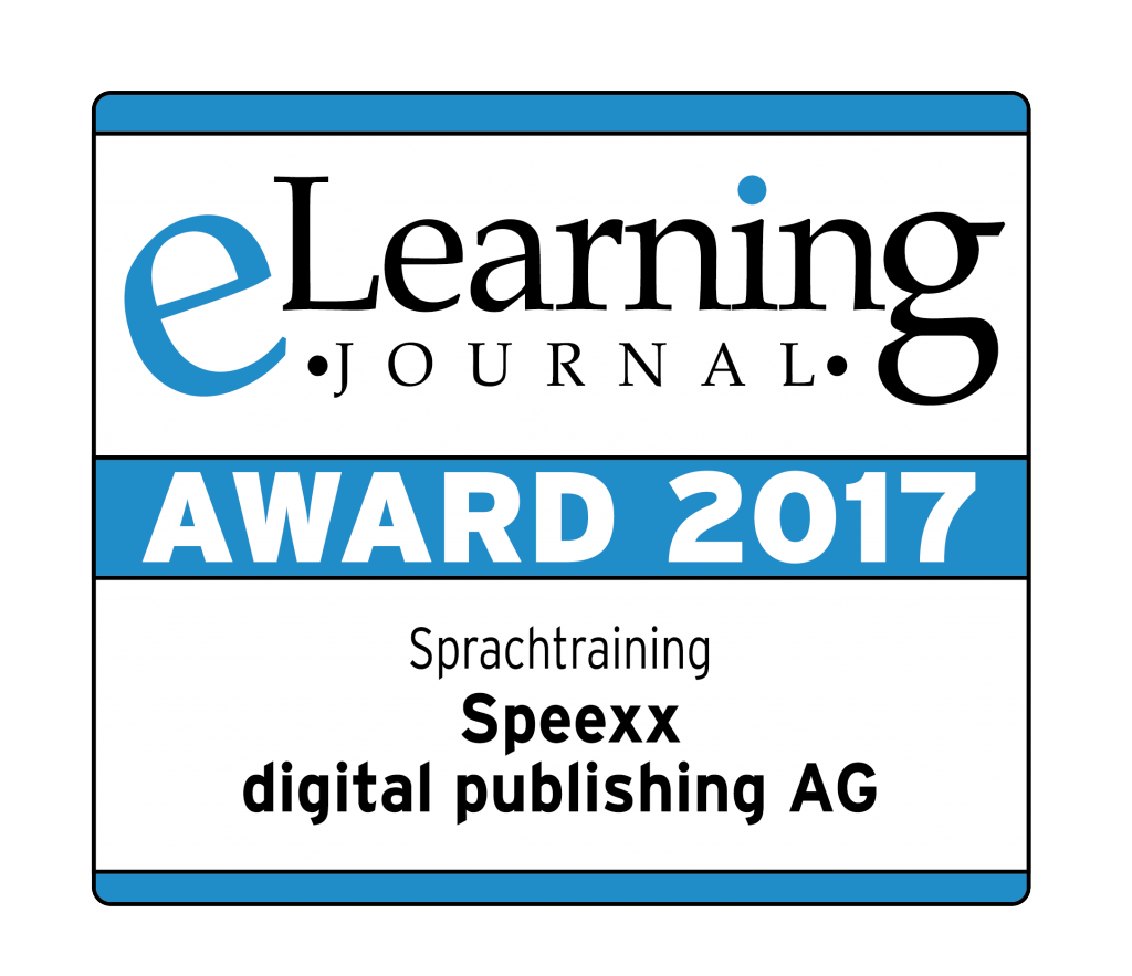 elearning journal award logo