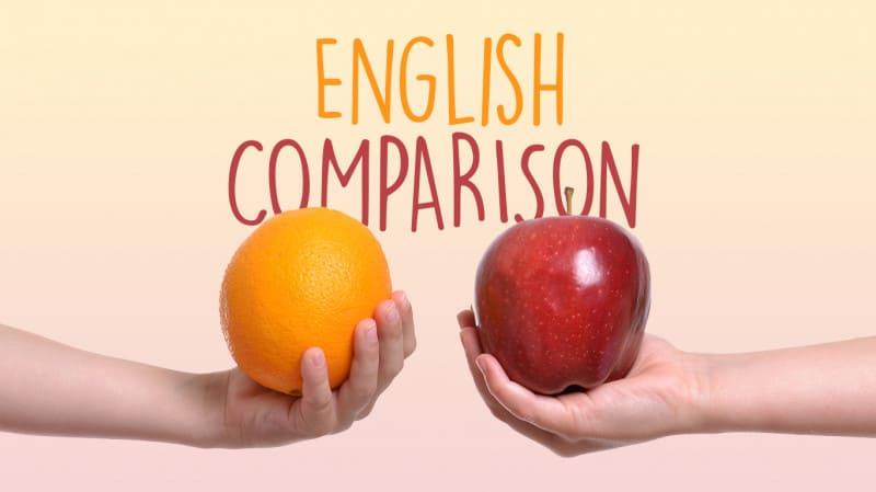 paragoni-in-inglese-english-comparison