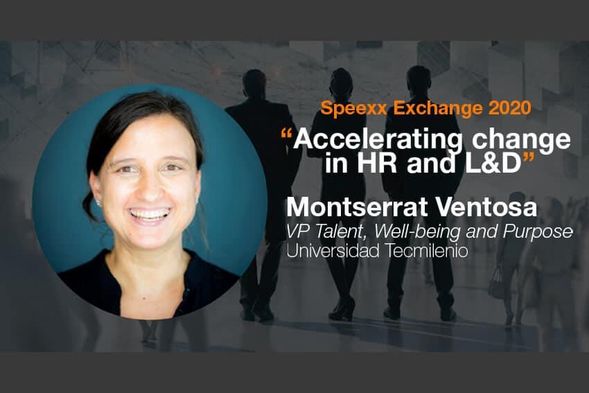 Speexx exchange 2020 interview with Monserrat Ventosa