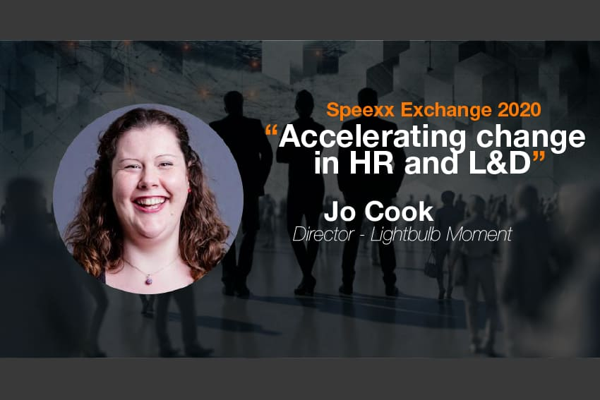 Speexx Exchange 2020: Accelerating Change in HR & L&D with Jo Cook