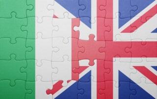 gli errori degli italiani che parlano inglese