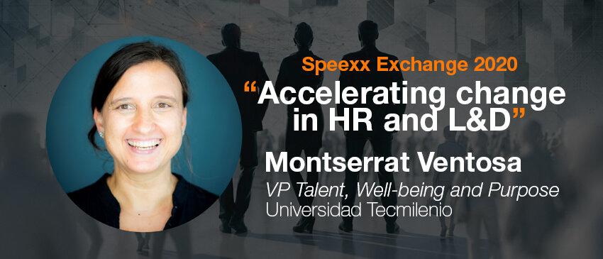 Speexx exchange interview 2020 with Monserrat Ventosa