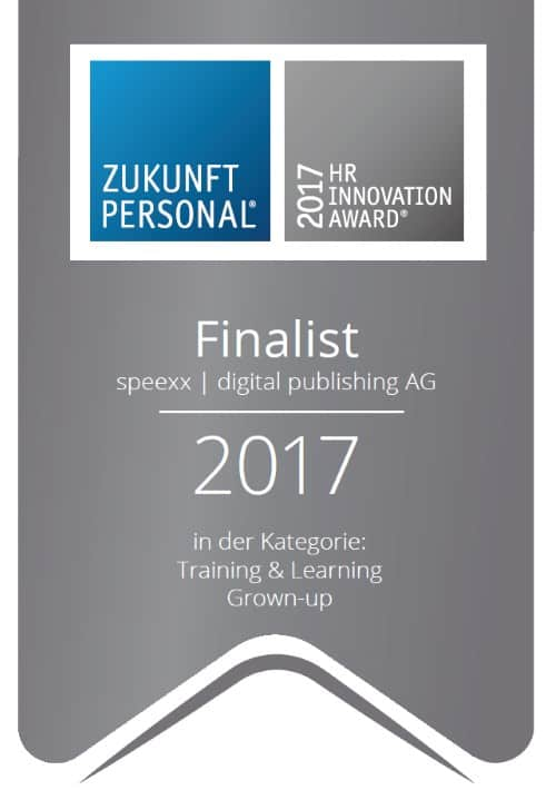 HR Innovation Award 2017