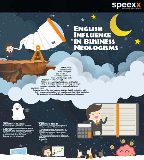 Infografica - English influence in business idioms