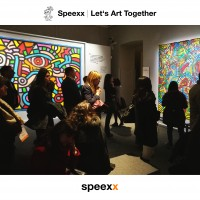 speexx let's art together - keith haring