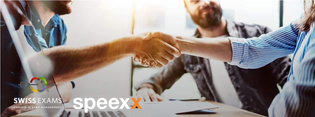 speexx and swiss exams partnership