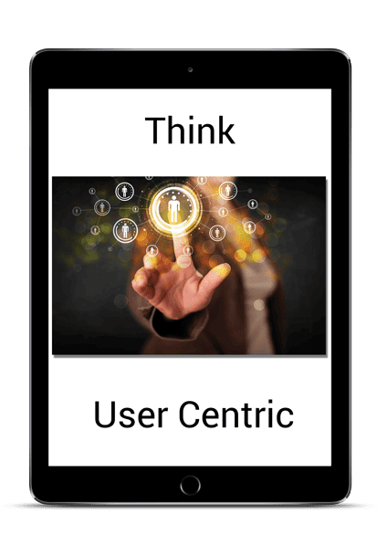 think user centric ipad